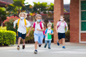 Help our students combat Covid-19, by using masks and hand sanitizer.